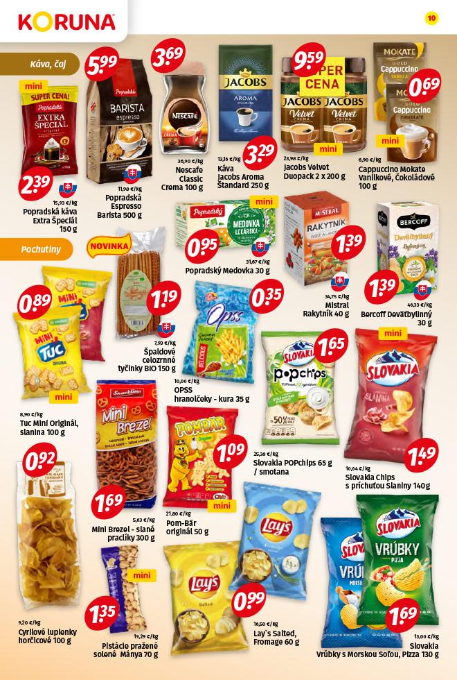 Potraviny KORUNA - aktuálny akciový leták - strana 10