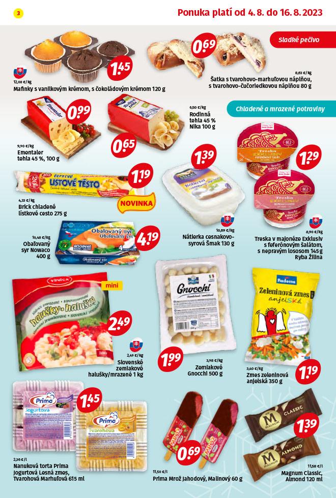 Potraviny KORUNA - aktuálny akciový leták - strana 3