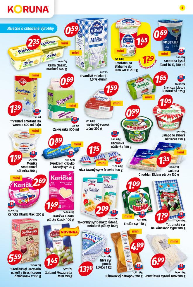 Potraviny KORUNA - aktuálny akciový leták - strana 4