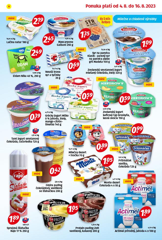 Potraviny KORUNA - aktuálny akciový leták - strana 5