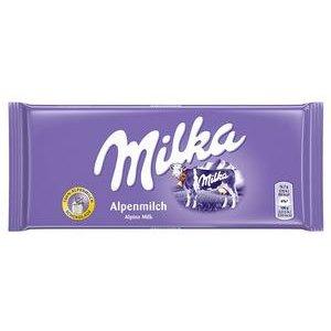 Čokoláda Milka Mliečna - Alpenmilch 100g