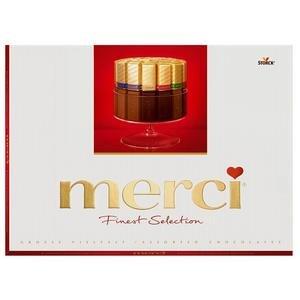 Merci Červené - mix čokolád 250g