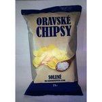 Oravské chipsy 75g-solené