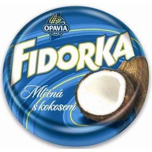 """Fidorka """"modrá"""" - oblátka s Kokosovou náplňou v Mliečnej čokoláde 30 g"""