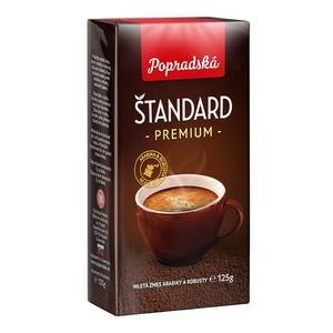 Káva Poprad Štandard mletá vákuová 125g
