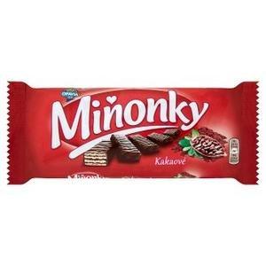 Minonky-oblatky s kakaovou naplnou celomacane v kakaovej poleve 50g