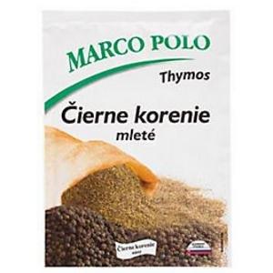 Korenie čierne mleté 20g Marco Polo
