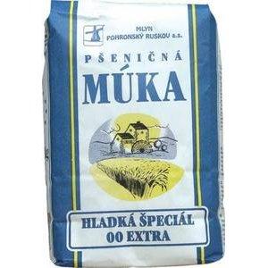 Pšeničná múka hladká špeciál 00 Extra Mlyn Pohronský Ruskov 1kg