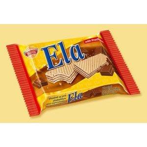 Ela Dia oblatky s kakaovou naplnou s cokoladovou aromou a fruktozou 40 g