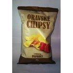 Oravske chipsy 75g-paprikove