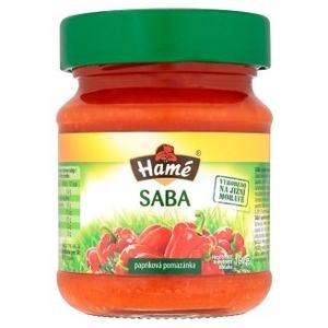 Saba papriková pomazánka 160g