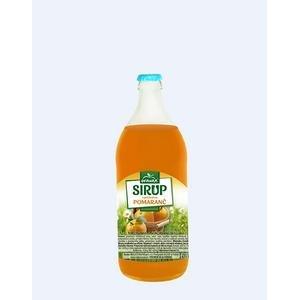 Sirup Oravan pomaranč vo vratnej fľaši 0,7l