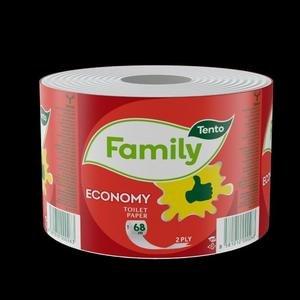 Toaletný papier Tento Economy 1 kotúč, 68m.