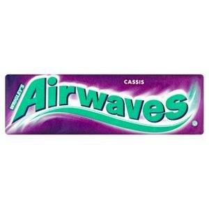 Žuvačka Airwaves Cassis+vitamín C