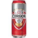 Pivo Corgoň 10% svetlý 0,5l/plechovka