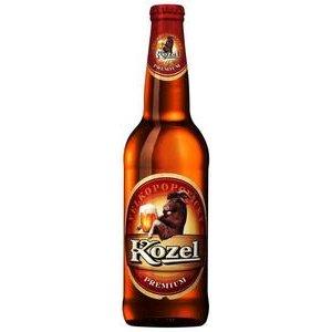 Pivo Velkopopovický kozel 12% 0,5l/fľaša