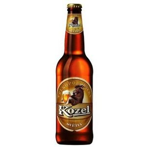 Pivo Velkopopovický kozel 10% 0,5l/fľaša