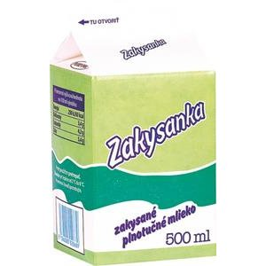 Zakysanka AgroTami - zakysane plnotucne mlieko 500ml