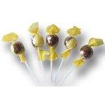 Lízanka Banánovo-čokoládová gulička 10g