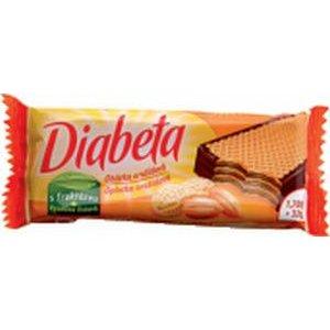 Diabeta obvodovo máčaná arašídová oblátka pre diabetikov (s fruktózou) 32g