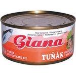 Tuniak drvený v oleji Giana 185g