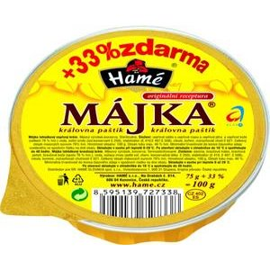 Májka Hamé 75g+33%AL