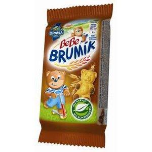 Opavia Brumík Čokoláda - jemné pečivo zo šľahaného cesta s náplňou 30g