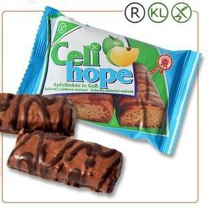 Celihope Sušienky - jablkové máčané v mliečnej poleve zdobené kakao.polevou 90g