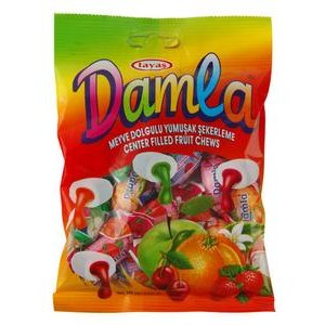 Damla ovocne karamelky 100g