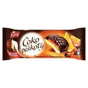 Čoko piškóty pomarančové polomáčané v horkej čokoláde 147g