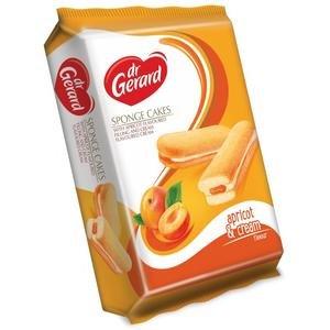Dr.Gerard Sponge Cakes-piškóty plnené jablko-marhuľ.a smotanovou plnkou 170 g