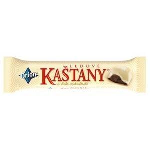 Ľadové gaštany biela čokoláda 45g