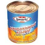 Kompót mandarínkový /zlomky/314 ml Lumarkt