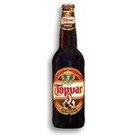 Pivo Topvar tmavý 11% 0,5/fľaša