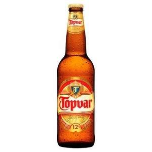 Pivo Topvar 12% 0,5l/fľaša