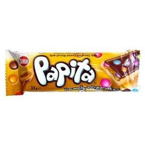 Papita Karamelová-Sušienka s karamel.krémom v čokoláde s dražé cukríkmi 33g