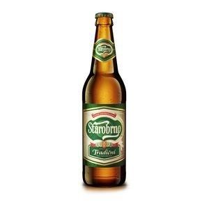 Pivo Starobrno 10% 0,5l/fľaša