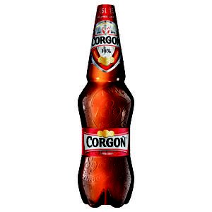 Pivo Corgon 10% svetle 1,5l/PET flasa