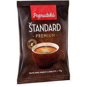 Káva Poprad Štandard mletá 75g