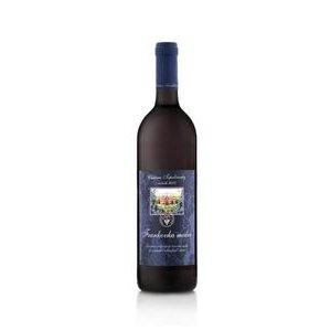 Frankovka modrá Chateau Topoľčianky-slovenské odrodové suché červené víno1l