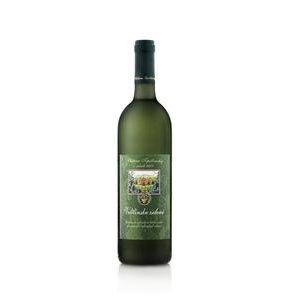 Veltlinske zelene Chateau Topolcianky - slovenske odrodove vino biele suche 1 l