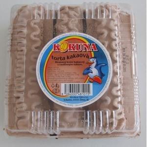 Koruna-Mrazená torta 615ml/kakao