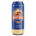Pivo Smadny mnich 10? v pechovke 0,5 l / plechovka