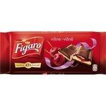 Figaro čokoláda horká-višňová 100g