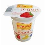 Smotanový jogurt Koruna Jahodový 125g