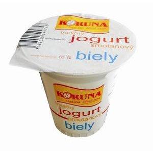 Smotanový jogurt Koruna Biely 125g