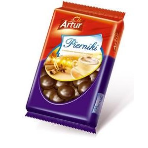 Artur Perníky srdce v čokoládovej poleve 190g