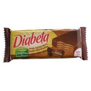 Diabeta celomáčaná oblátka s kakaovou náplňou pre diabetikov (s fruktózou) 32g