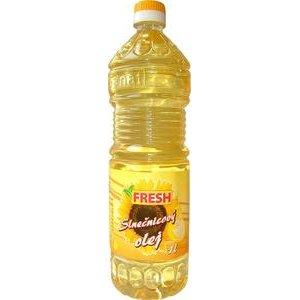 """Slnečnicový olej 100% """"FRESH"""" 1l"""