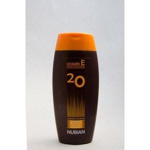 Nubian - mlieko na opalovanie s OF 20 200ml
